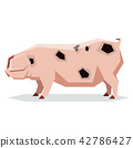 Flat geometric Gloucestershire Old pig 42786427