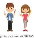 직업 미용사 남녀 42787165