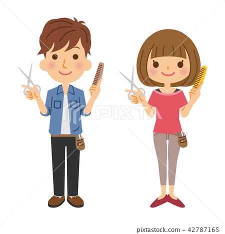 Occupation Hairdresser Gender 42787165