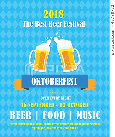 Oktoberfest banner vector illustration 42788722