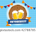 Oktoberfest banner vector illustration 42788785