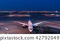 도쿄 국제 공항 국제선 터미널 야경 42792049