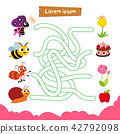 maze game vector design 42792098