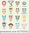 wild animal elements 42793032