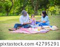 park, granddaughter, grandparents 42795291