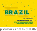 Brazil Independence Day 42800307