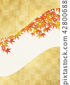 楓樹 紅楓 楓葉 42800688