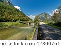Bicycle Lane in Valsugana - Sugana Valley Italy 42800761