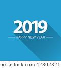 2019 vector calendar 42802821