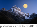 Ushba - the most beautiful peaks of the Caucasus Mountains 42804013