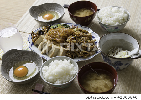 Sukiyaki set meal 42806840