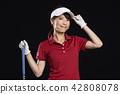 골프, 골퍼, 여성 42808078