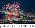 비와코 큰 불꽃 놀이 꿈이 언덕 전망대에서 42810136