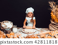 girl, bread, cook 42811818