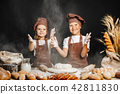 girl, boy, cooking 42811830