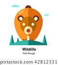 Wildlife Flat Icon 42812331