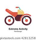 Extreme Activity Flat Icon 42813258