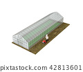 greenhouse, farmer, cultivator 42813601