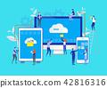 Big Data. Cloud Online Data. Storage System.   42816316