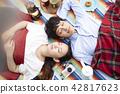 公園夫婦野餐 42817623