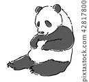 动物熊猫 42817800