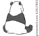 动物熊猫 42817803