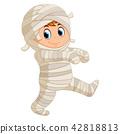 Mummy walking 42818813