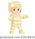 Mummy walking 42818818