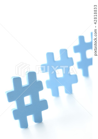 hashtag#  42818833