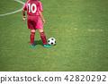 แนวนอนของเกมฟุตบอลหญิง 42820292