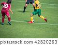 แนวนอนของเกมฟุตบอลหญิง 42820293
