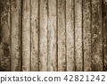 Old wood plank texture background, high resolution 42821242