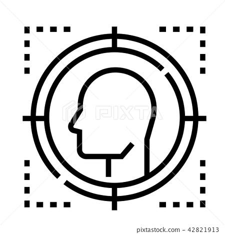 Targeted Line illustration 42821913