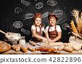 girl, boy, cooking 42822896