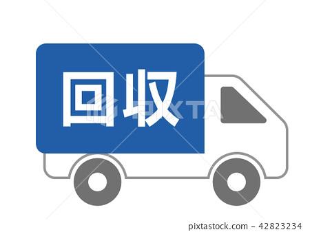 收集卡車 42823234