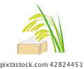 sho (about 1.8 liters), paddy, rice 42824451