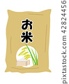rice sack, sho (about 1.8 liters), paddy 42824456