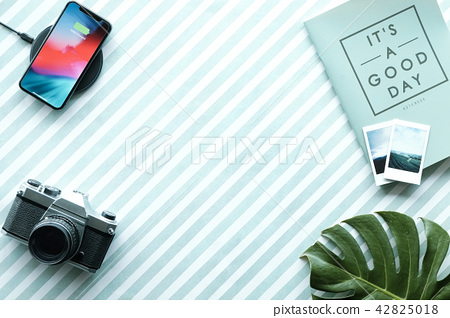 Business vacation Flat lay 42825018