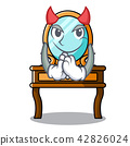 Devil dressing table mascot cartoon 42826024