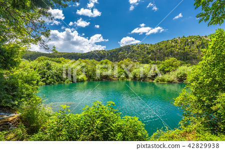 Beautiful lake with clean water. 42829938