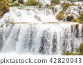 croatia, skradinski, waterfall 42829943