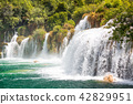 croatia, skradinski, waterfall 42829951