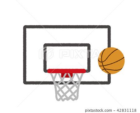 篮球 球 矢量 42831118