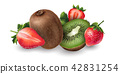 奇异果 草莓 水果 42831254