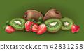 奇异果 草莓 水果 42831258