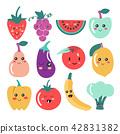 fruit, kawaii, fruits 42831382