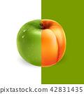 apricot apple fruit 42831435