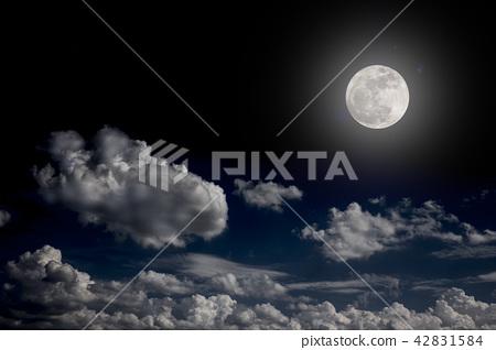 big moon background night sky no photo by nasa 42831584