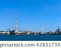 industrial complex, industry, kita-kyushu factory area 42831730