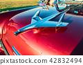 Hood ornament on Classic American Chevrolet 42832494